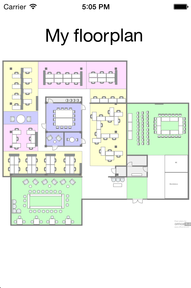 Add Floor Plans in Your NativeScript Application with