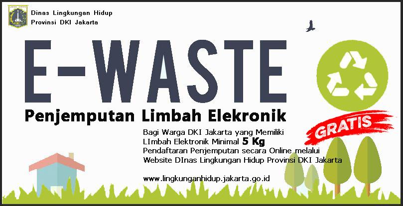 Program Penjemputan Limbah Elektronik (E-Waste)