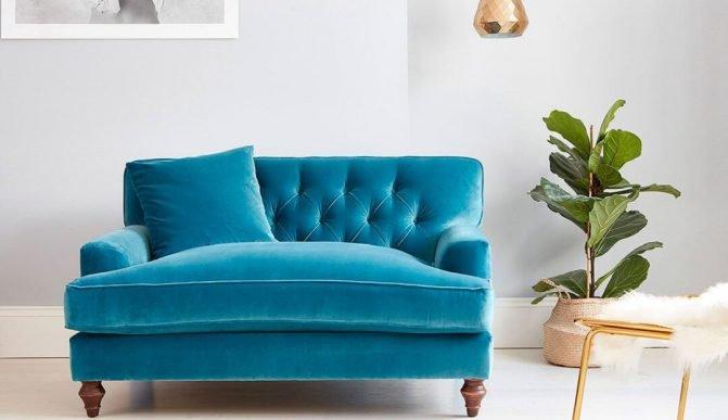 Ghế sofa đơn dành cho các cặp vợ chồng