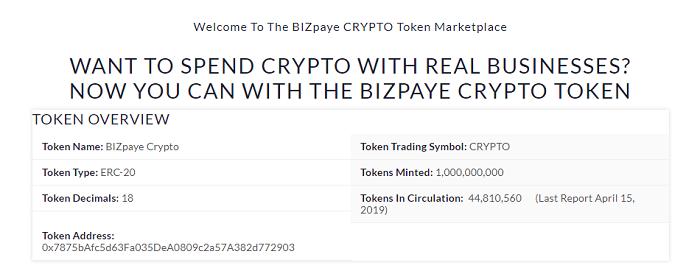 BIZpaye CRYPTO — обзор ІСО-проекта и торговой платформы