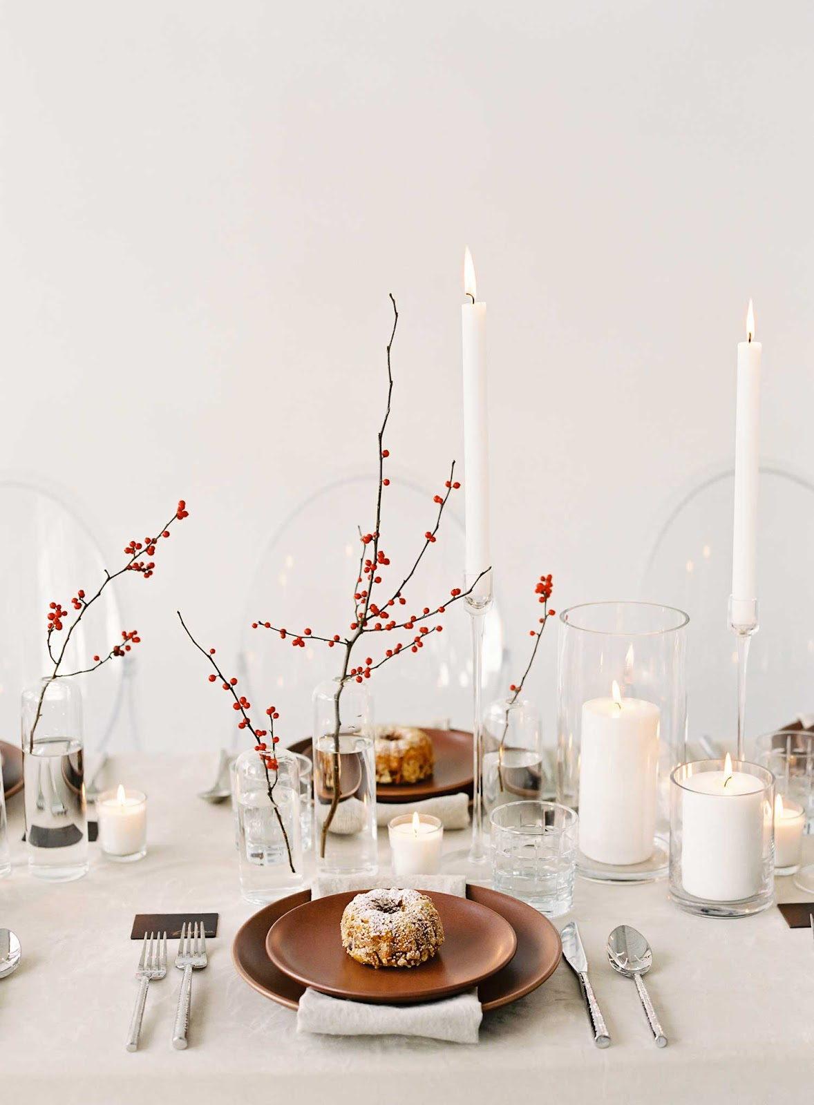Ideas for styling a unique festive table | Vinterior