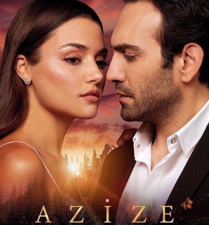 """""""Azize"""", la serie que interpretó la actriz y modelo en 2019."""