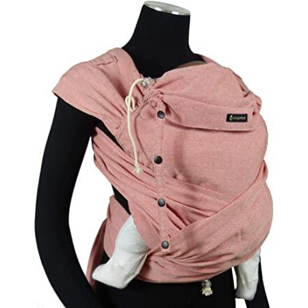 Amazon.com : DIDYMOS DidyKlick Soft Structured Baby Carrier Chili (Organic  Cotton), Red/Natural White, One Size : Baby