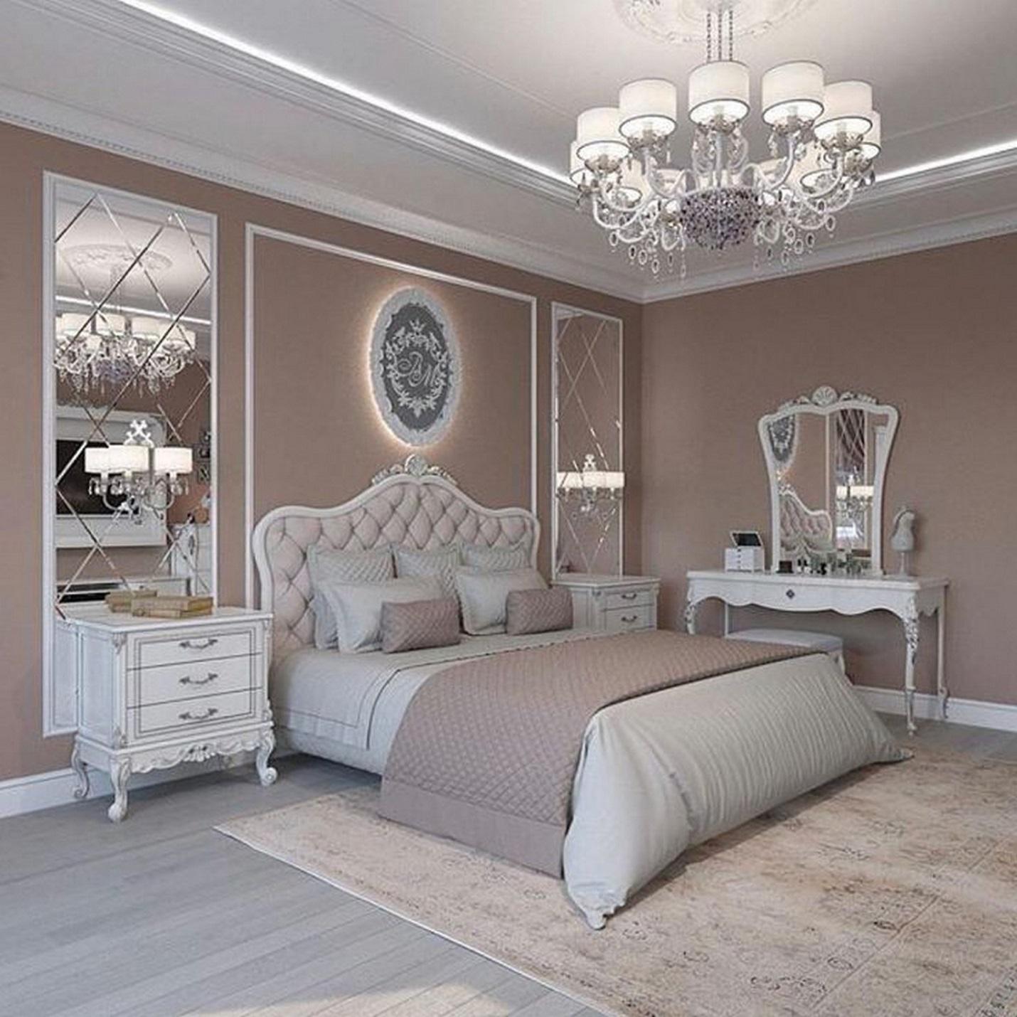 Phòng ngủ thiết kế đẹp mang phong cách cổ điển