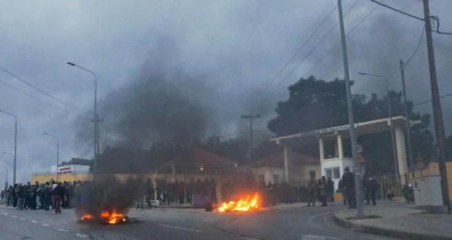 Хроника восстания на Лесбосе и Хиосе: 62 раненых в столкновениях