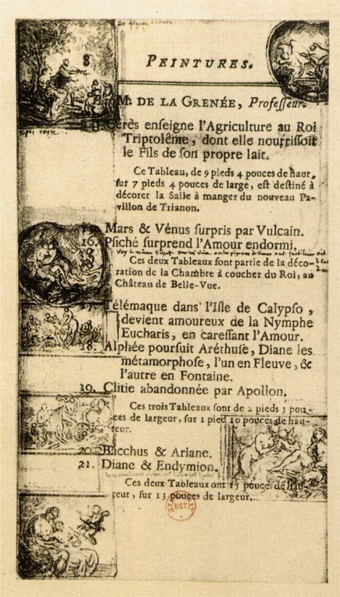Salon de 1769 paris salon exhibitions 1667 1880 - Salons de the a paris ...
