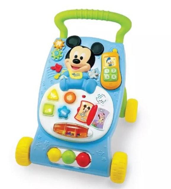 4. Disney Baby Grow With Me Musical Walker