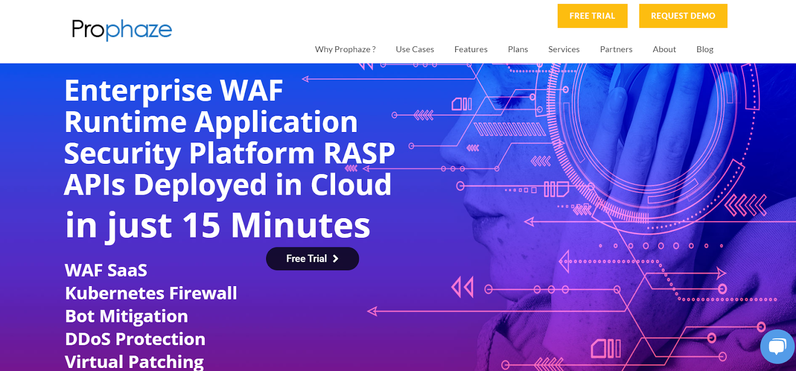 Prophaze WAF-As-A-Service is a Web Application Firewall Application