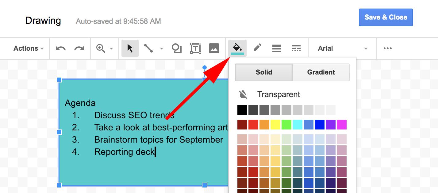 Google Docs Figure Caption 1