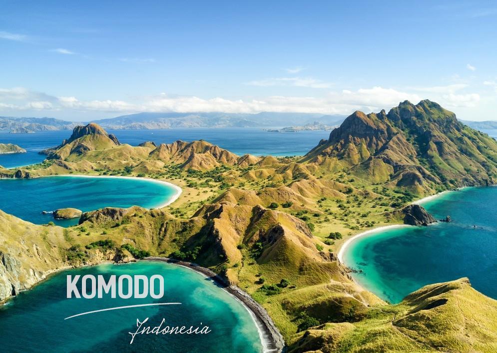 3. Đảo Komodo – Indonesia