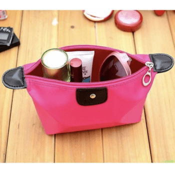 Arrangement makeup bags for travel