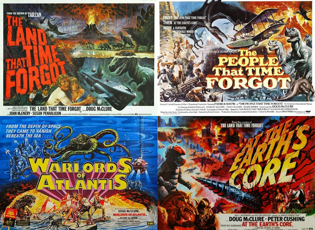 Amicus quadrilogy movie posters