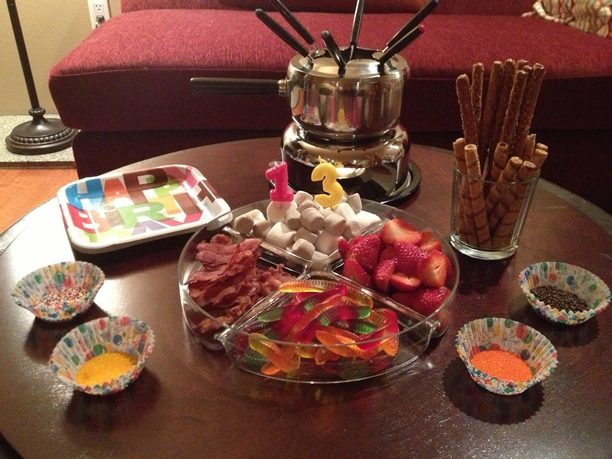 Chocolate Fondue Evening on 14th February with Your Date