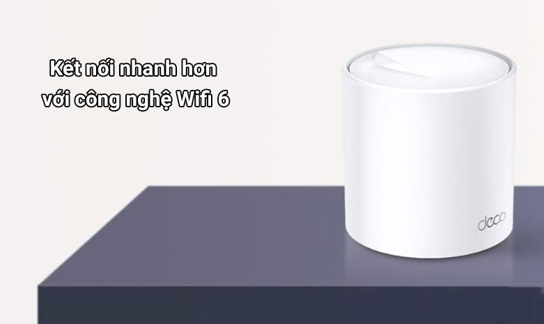 Thiết bị mạng Wifi Mesh 6 TPLink Deco X20 (3-pack) | Kết nối nhanh hơn