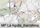 LA AGULLA TERRITORIAL PARK, BARCELONA Restricted competition, 1st Prize. Plan under implementation