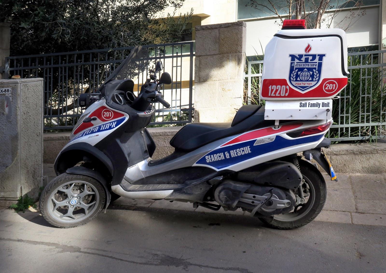 Ambulance motorcycle aka ambucycle