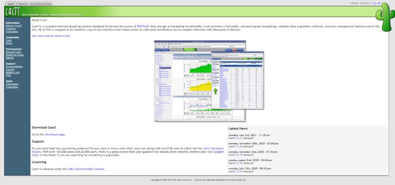 Network Flow Analyzer - Cacti