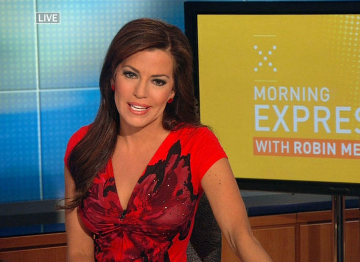 Robin Meade with HLN