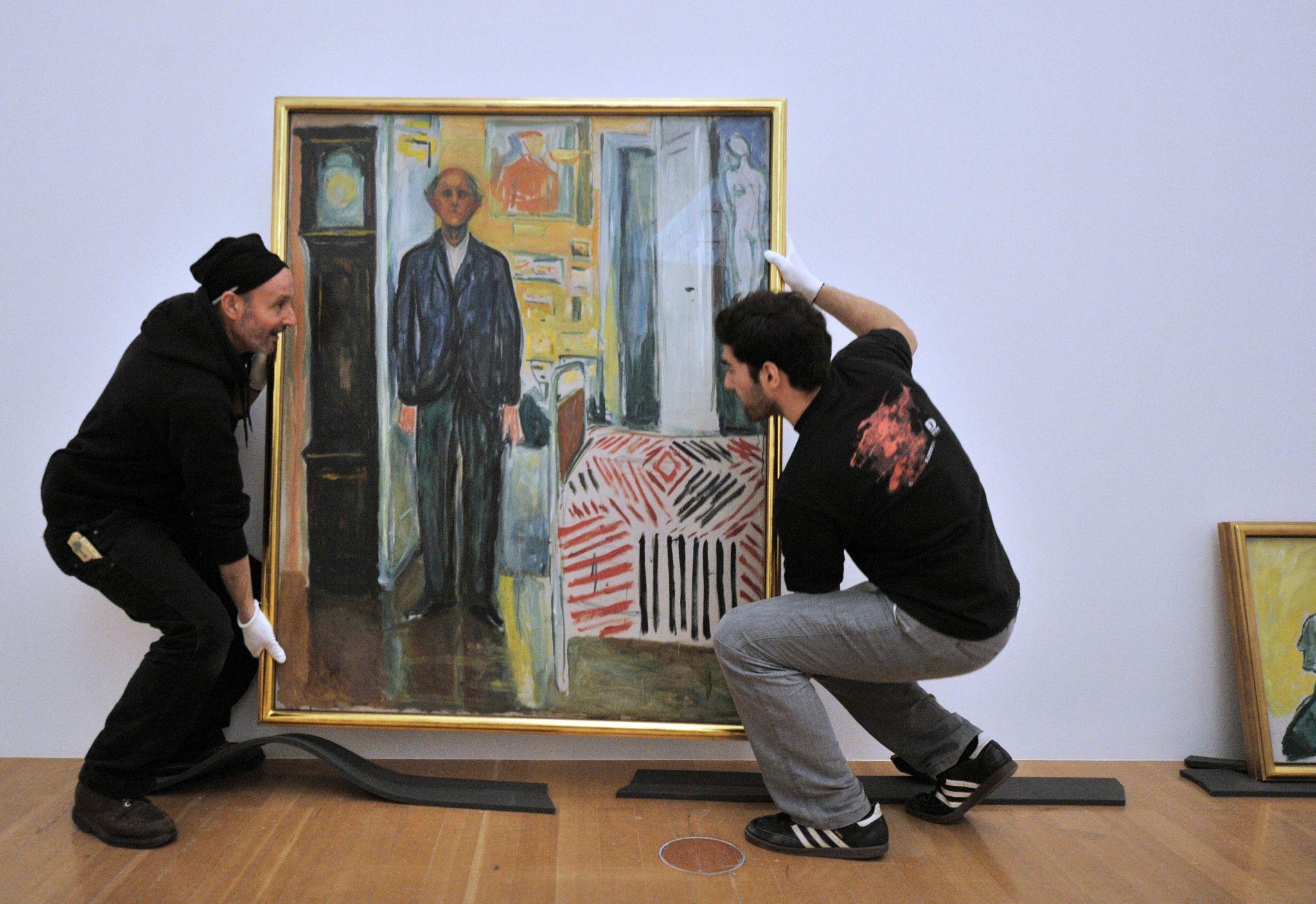 Автопортреты перед смертью: Эдвард Мунк, Ван Гог и другие
