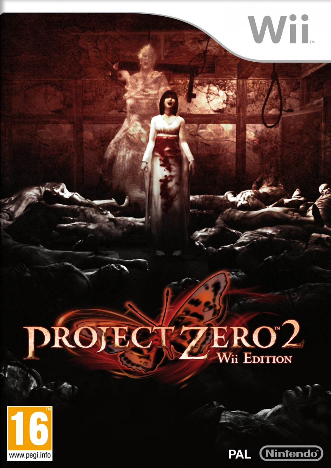 Image result for project zero ii crimson butterfly wii