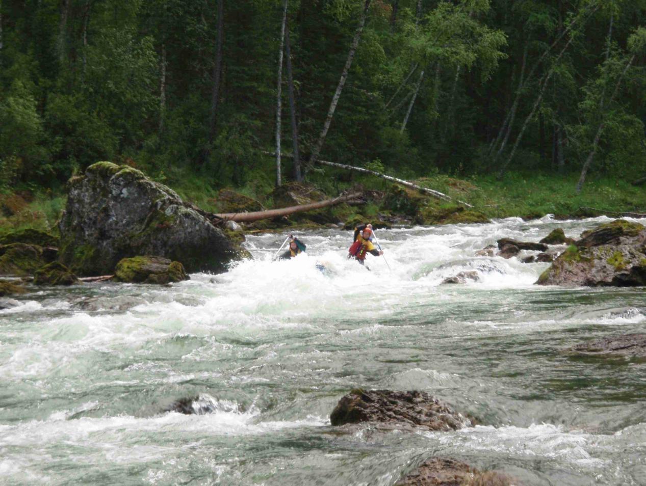 Отчёт о водном туристском походе IV категории сложности  по р. Она