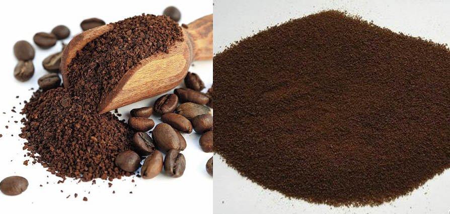 Cà phê giả khi pha với nước sôi thường trở nên bết dính