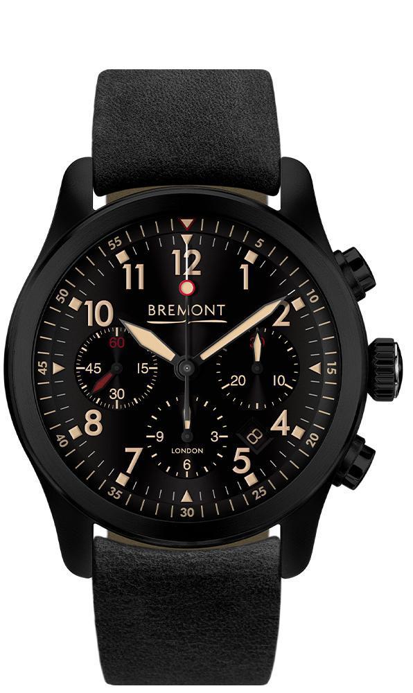 Bremont ALT1-P2 JET Black Pilot's Chronograph — Bremont Watch ...