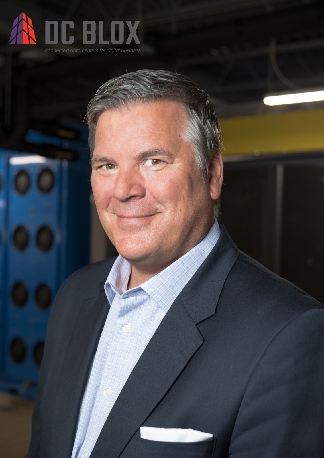 DC BLOX's CEO, Jeff Uphues