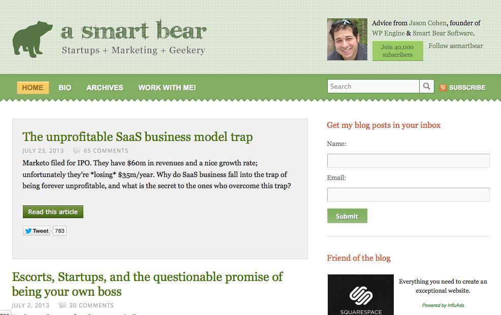 A Smart Bear