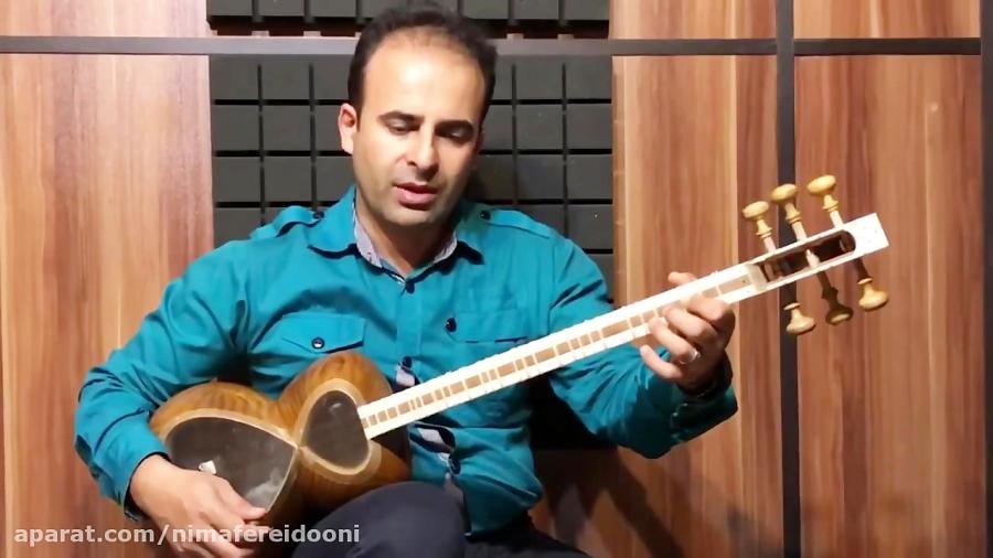 فیلم آموزش سلمک شور گزیده ردیف موسیقی ملی ایران کیوان ساکت . تار نیما فریدونی