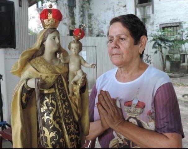 Rita Lima Santana, voluntária.