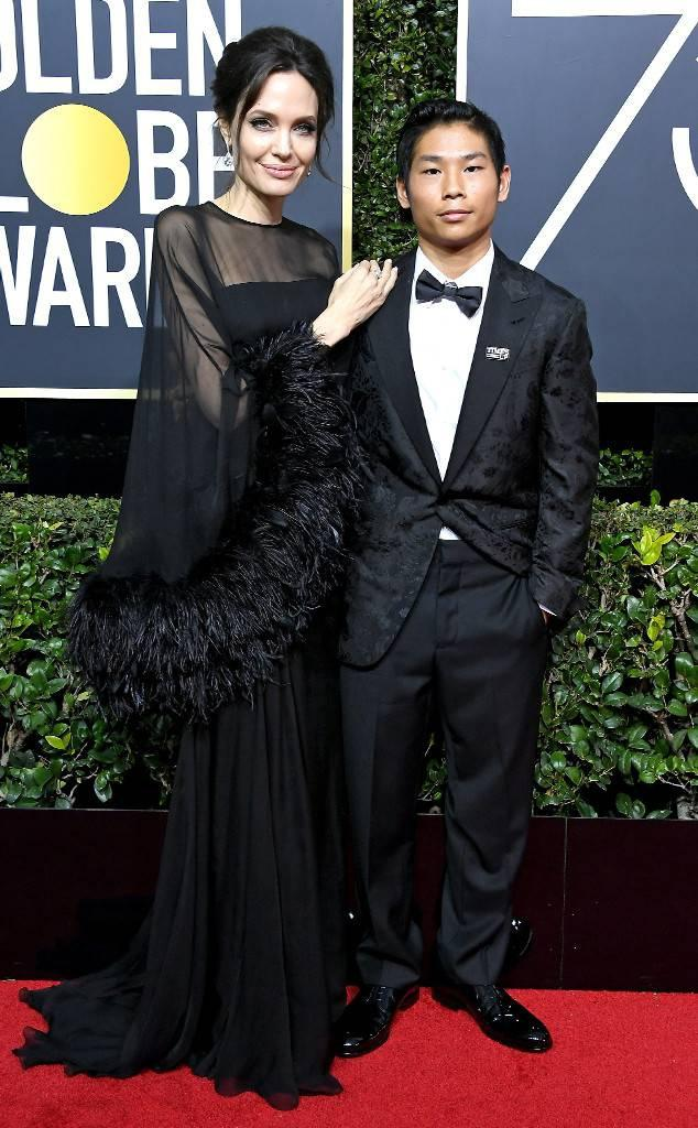 Angelina Jolie ăn mặc giản dị đưa con trai gốc Việt xuống phố mua sắm | Văn  hóa | Thanh Niên