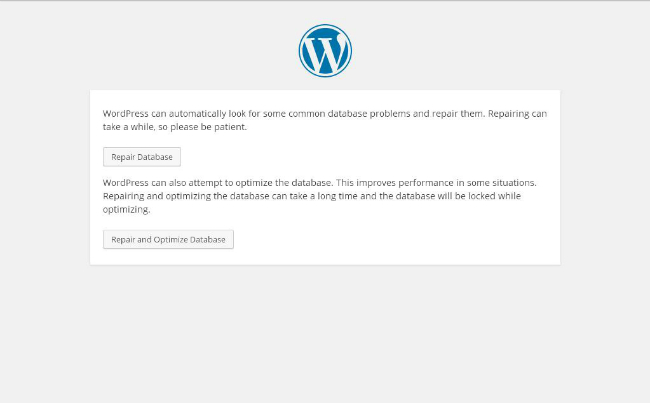 wordpress -data-screen repair