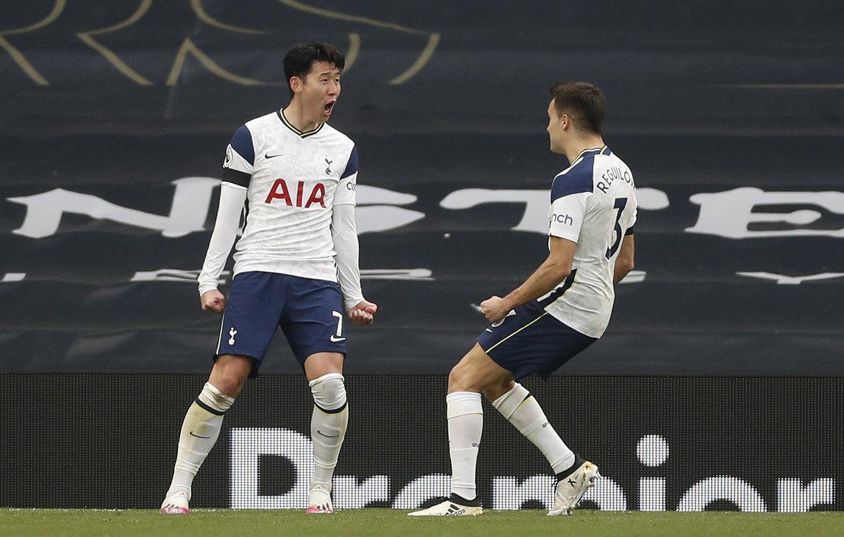 Son Heung Min không thể giúp Tottenham có được kết quả tốt