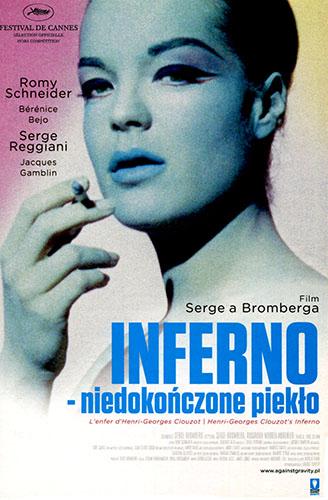 Przód ulotki filmu 'Inferno - Niedokończone Piekło'