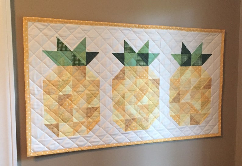 pineapple welcome quilt pattern
