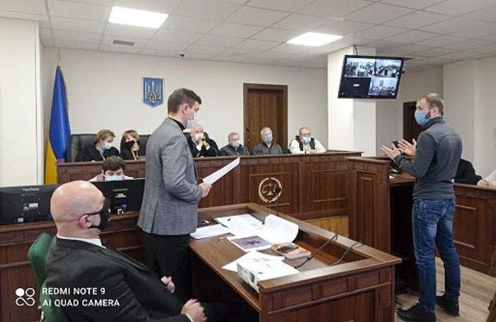 Допит свідка Івана Барахтянського у Святошинському суді , 16 грудня 2020