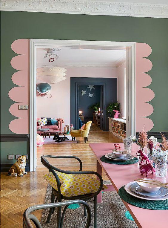 Colorful interior 2021