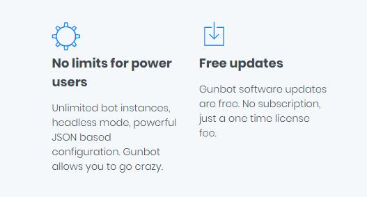 Gunbot: обзор торгового бота и описание тарифов