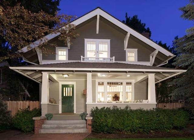 11 Desain Rumah Gaya Amerika Yang Paling Populer Di Sana