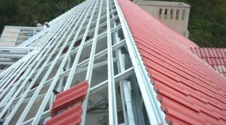 Kết cấu khung lợp mái tôn