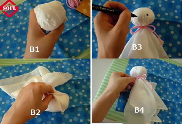 Cách làm búp bê cầu mưa