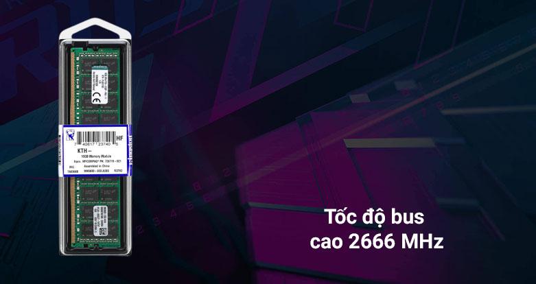 Bộ nhớ/ Ram Kingston 16G DDR4 2666 (KSM26ED8/16HD) | Tốc độ bus cao