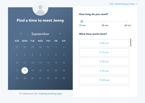 meeting scheduling automation
