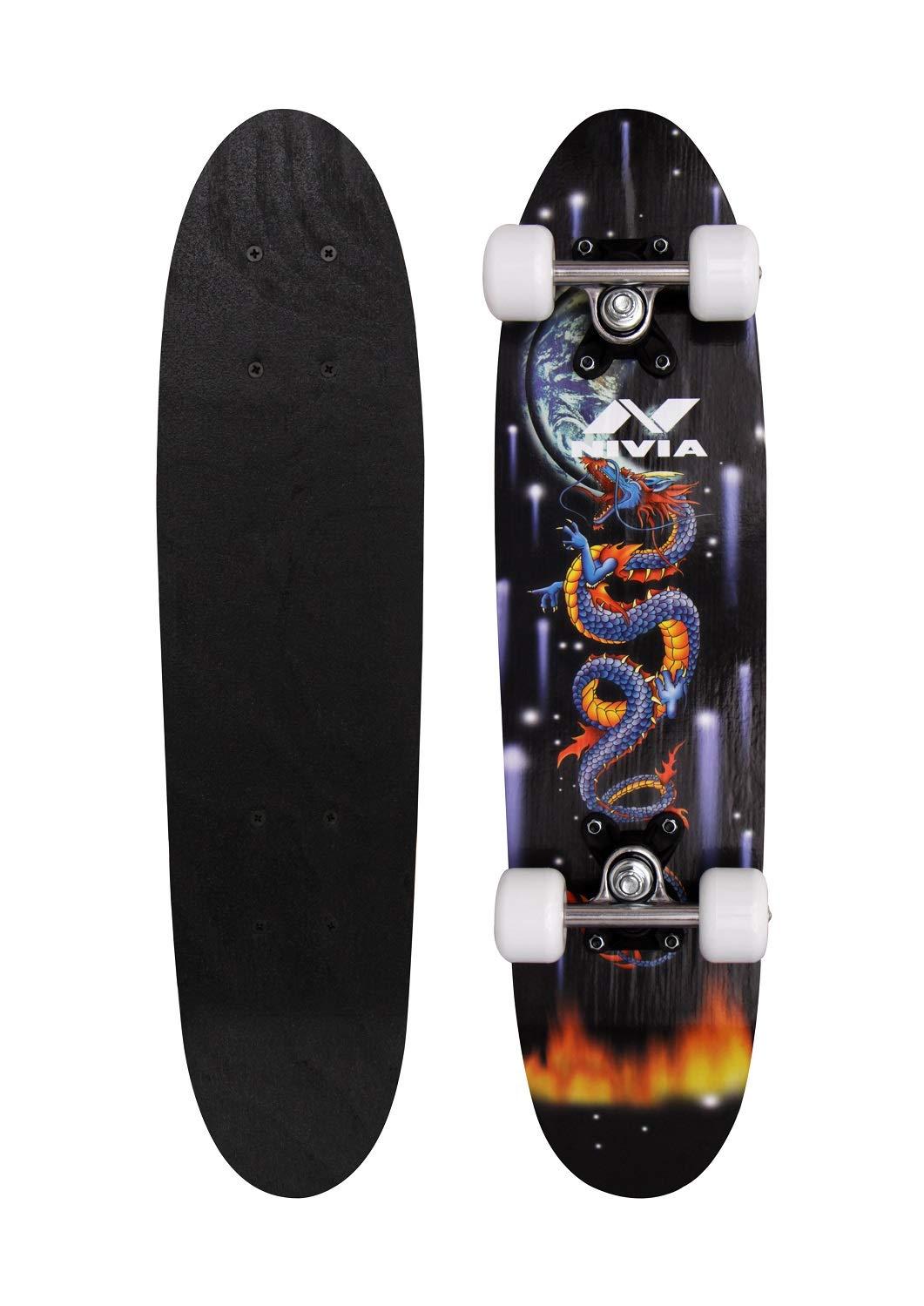 Nivia 31 x 8 inches Skateboard