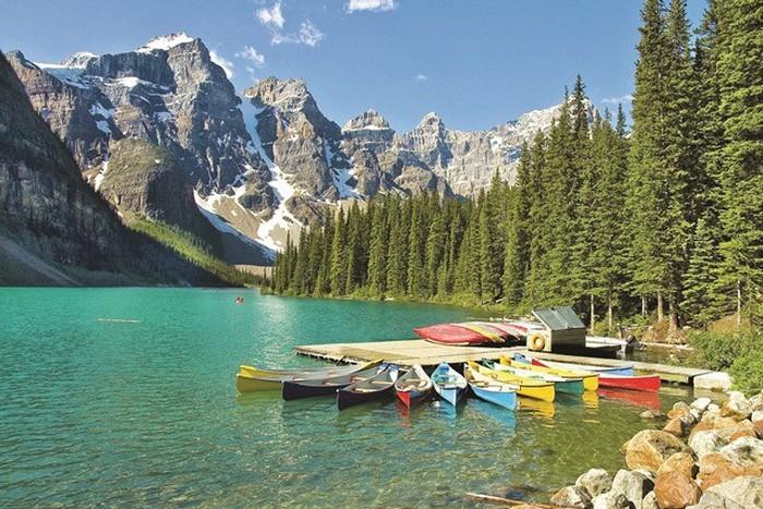Khung cảnh vườn Quốc gia Banff