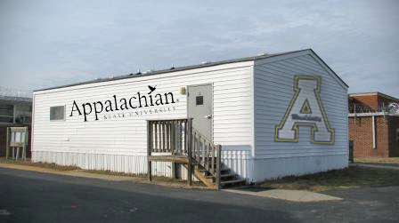 App State to Move All Academic Departments Into Trailer. Vacated Buildings to be Turned Into Football Workout Facilities.