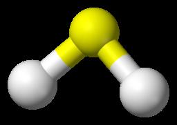 H2S molecular structure