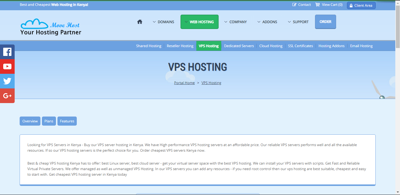 VPS providers: Move Host