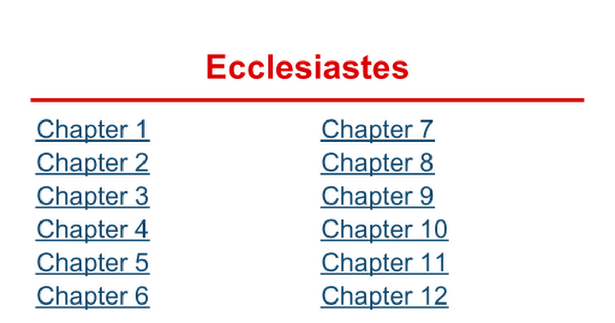 ecclesiastes analysis Ecclesiastes 12:12 and further, by these, my son, be admonished: of making many books [there is] no end and much study [is] a weariness of the flesh this is very true today there are hundreds of thousands of books written just on the bible subjects.